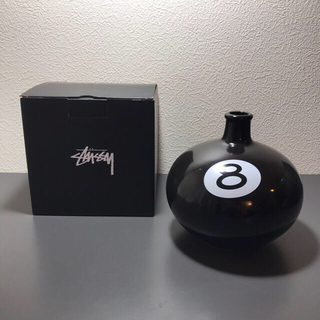 ステューシー(STUSSY)のStussy Hong Kong 8 Ball VASE Black(その他)