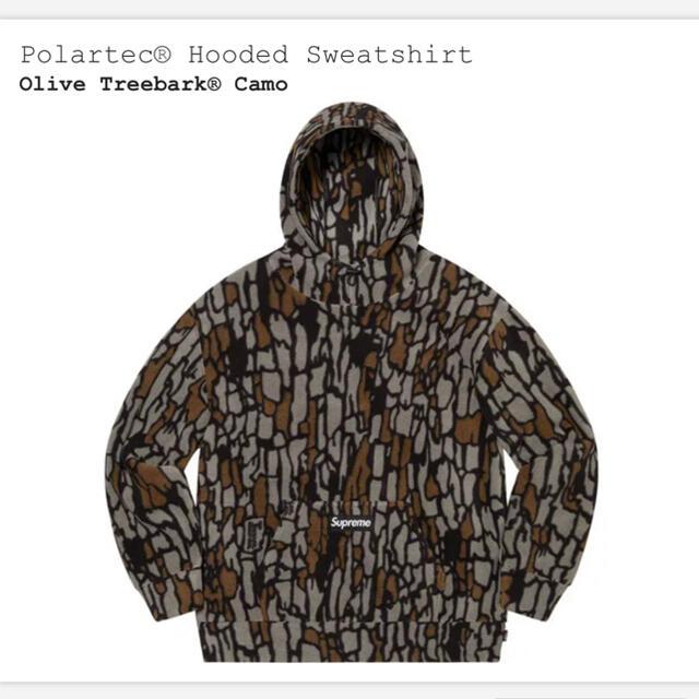 Supreme(シュプリーム)のSupreme Polartec Hooded Sweatshirt L メンズのトップス(パーカー)の商品写真