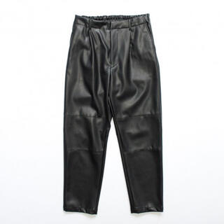 SUNSEA - [送料込•即日発送]stein fake leather trousers