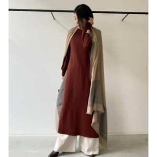 L'Appartement DEUXIEME CLASSE - L'Appartement Knit Dress◆ボルドー