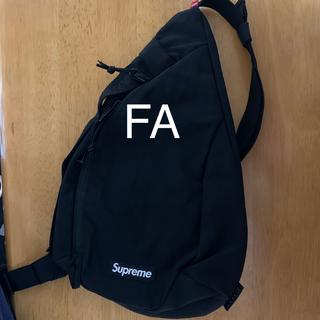 シュプリーム(Supreme)の20FW Supreme Sling Bag Black 黒 (ショルダーバッグ)