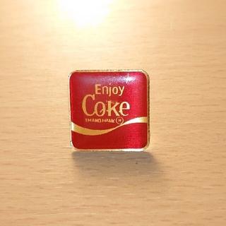 コカコーラ(コカ・コーラ)の【Coca-Cola】コカ・コーラ ピンバッジ フランス製 アンティーク(バッジ/ピンバッジ)