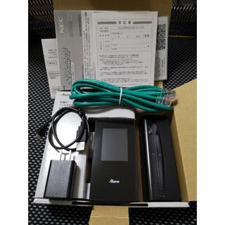 NEC - NEC Aterm MR05LN◆付属品完備&クレードルセット◆デュアルSIM