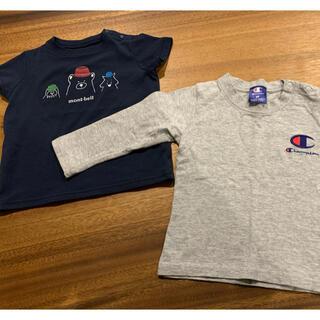 モンベル(mont bell)のmont-bell(モンベル)Tシャツ champion(チャンピオン)ロンT(Tシャツ/カットソー)