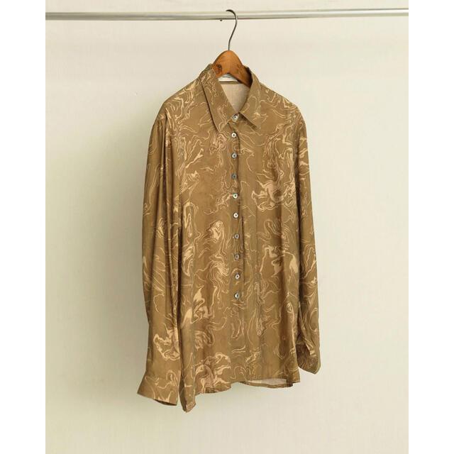 TODAYFUL(トゥデイフル)のtodayful Vintage Marble Shirts レディースのトップス(シャツ/ブラウス(長袖/七分))の商品写真