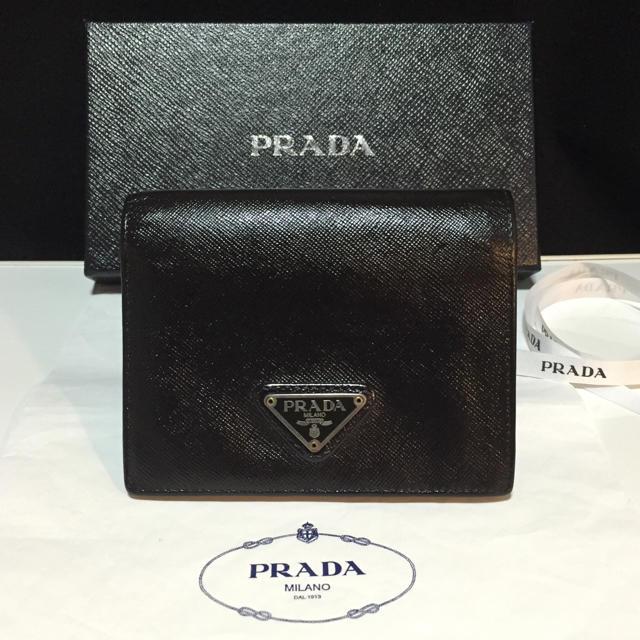 wholesale dealer b9758 a8d05 正規品✨プラダサフィアーノミニ財布 | フリマアプリ ラクマ