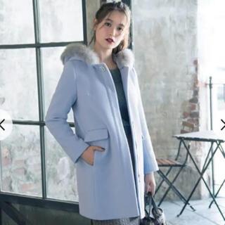 anySiS - anysis 水色 ブルー コート