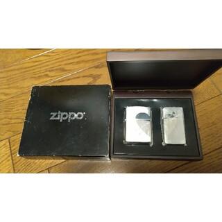 ジッポー(ZIPPO)のZippo ジッポ Heart ペア(タバコグッズ)