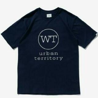 ダブルタップス(W)taps)の【新品】WTAPS WTVUA DOT 半袖TEE XS ネイビー 20AW新作(Tシャツ/カットソー(半袖/袖なし))