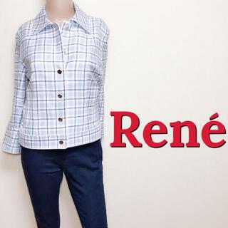 René - 素敵♪ルネ お出かけ用 やわらかキレカジジャケット♡フォクシー エポカ トッカ