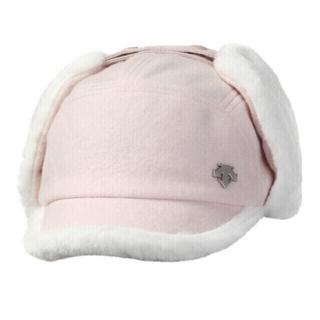 DESCENTE - [当日発送] DESCENTE ゴルフ 帽子 デサント 韓国 耳当て キャップ