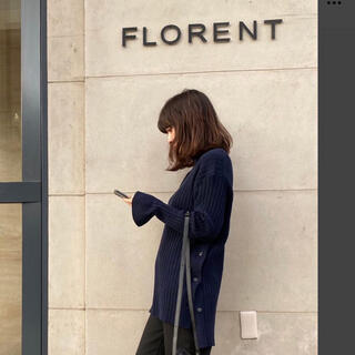 FLORENT - フローレント FLORENT 2020AW リブニット