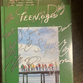 セブンティーン(SEVENTEEN)のSEVENTEENサイン入りCD(K-POP/アジア)