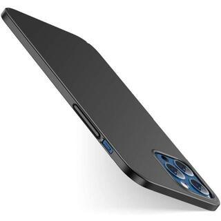 iPhone12Pro Max ケース 6.7インチ 対応 超薄型 ブラック