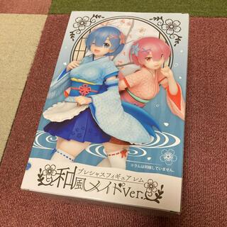 角川書店 - プレシャスフィギュア レム 和風メイドVer