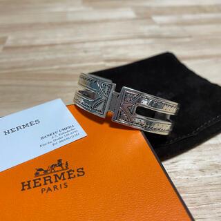 Hermes - 新品 HERMES トゥアレグ T4 バングル ブレスレット エルメス