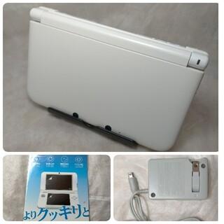 ニンテンドー3DS - 良 メンテ済み Nintendo 3DS  LL 本体 ホワイト