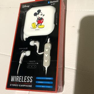 ディズニー(Disney)のワイヤレスイヤホン ミッキーマウス(ヘッドフォン/イヤフォン)