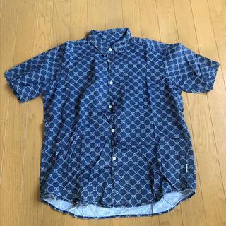 STUSSY - 【最終値下げ】STUSSY  ステューシー 半袖シャツ モノグラム柄