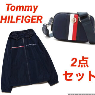 TOMMY HILFIGER - TOMMY HILFIGER    ショルダーバッグ&ナイロンジャケットセット