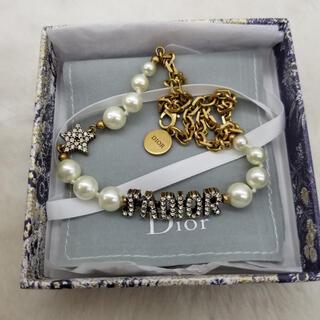 Dior - クリスチャンディオール  dior  ネックレス チョーカー パール
