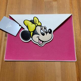Disney - ディズニー ミニー フラットポーチ
