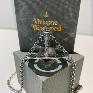 Vivienne Westwood - シルバー スモールオーブ ネックレス 刻印あり
