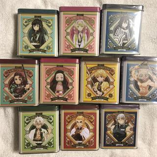 BANDAI - 鬼滅の刃キャンディー缶10個セット