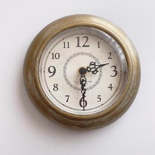 Francfranc - Francfranc シャビー 壁掛け時計 ゴールド