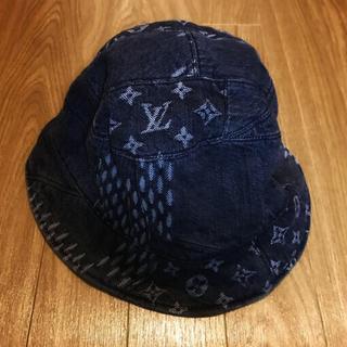 ルイヴィトン(LOUIS VUITTON)のLOUIS VUITTON ダミエ モノグラムデニム ハット 帽子 ルイヴィトン(ハット)