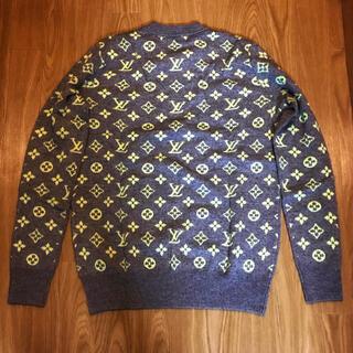 ルイヴィトン(LOUIS VUITTON)のLouis Vuitton ルイヴィトン ロゴ ニット セーター バック(ニット/セーター)