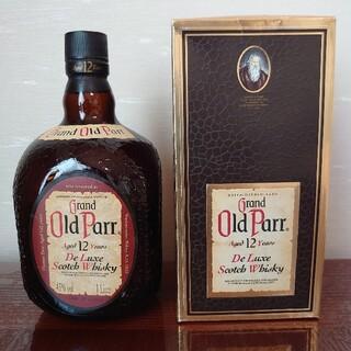 【未開封】【古酒】Grand Old Parr 12Years グランド オール