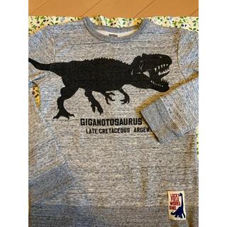 エフオーキッズ(F.O.KIDS)のF.O.KIDS 恐竜トレーナー 裏起毛 140cm(Tシャツ/カットソー)
