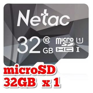 マイクロSDカード 32GB 1枚 96MB/s 高速 class10 NTGR(その他)