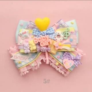 アンジェリックプリティー(Angelic Pretty)のAngelic Pretty マカロン バレッタ ブローチ 兼用(バレッタ/ヘアクリップ)