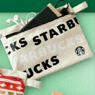 Starbucks Coffee - スタバ ホリデー キャンパス ポーチ