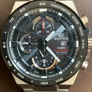 EDIFICE - カシオ EDIFICE EFR-541 ソーラー クロノグラフ 腕時計