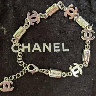 CHANEL - CHANEL 白金(K18)ブレスレット