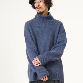 マーカ(marka)のmarka  LOOSE NECK - extra fine wool -(ニット/セーター)