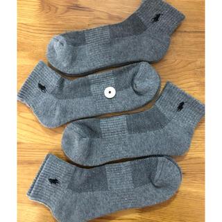 Ralph Lauren - 新品ポロラルフローレン メンズ靴下 ソックス  4足セット712