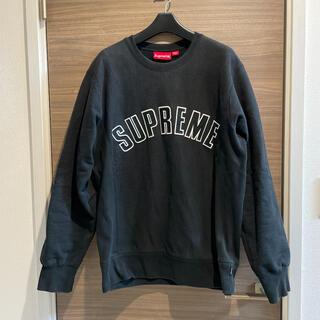 Supreme - Supreme Arc Logo Crewneck 15AW 黒 Lサイズ