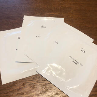 イプサ(IPSA)のイプサ★ホワイトプロセス マスク4枚(パック/フェイスマスク)