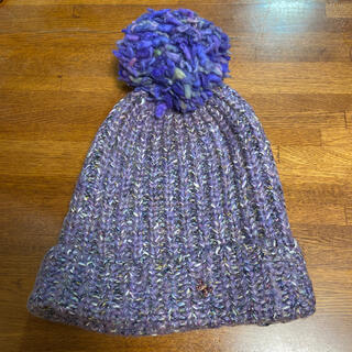 アナスイ(ANNA SUI)の美品 ANNA SUI ニット帽(ニット帽/ビーニー)