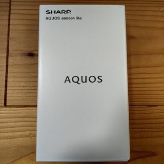 SHARP - 未開封新品 SIMフリー AQUOS sense4 lite ブラック