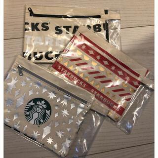 Starbucks Coffee - スターバックス キャンバスポーチ 2020年ホリデー