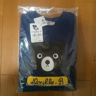 ダブルビー(DOUBLE.B)の【新品】  ⑪   DOUBLE.B  トレーナー  ミキハウス(Tシャツ/カットソー)