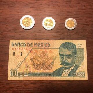 メキシコ 紙幣&コインセット
