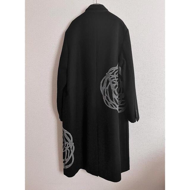 DIOR HOMME(ディオールオム)の名作 dior homme 14aw 薔薇コート メンズのジャケット/アウター(チェスターコート)の商品写真