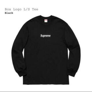 Supreme - Supreme Box Logo L/S Tee M