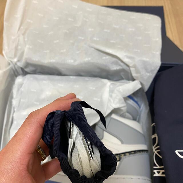 Christian Dior(クリスチャンディオール)のDior×Nike Air Jordan 1 High 42.5(27.5cm) メンズの靴/シューズ(スニーカー)の商品写真